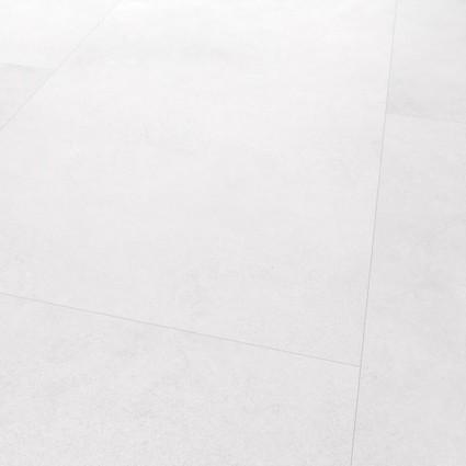 Mat hvid Porcelato Chiaro laminatflise