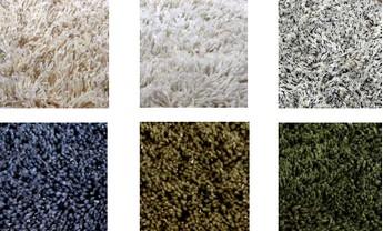 Lækkert blødt tæppe i 6 varme farver