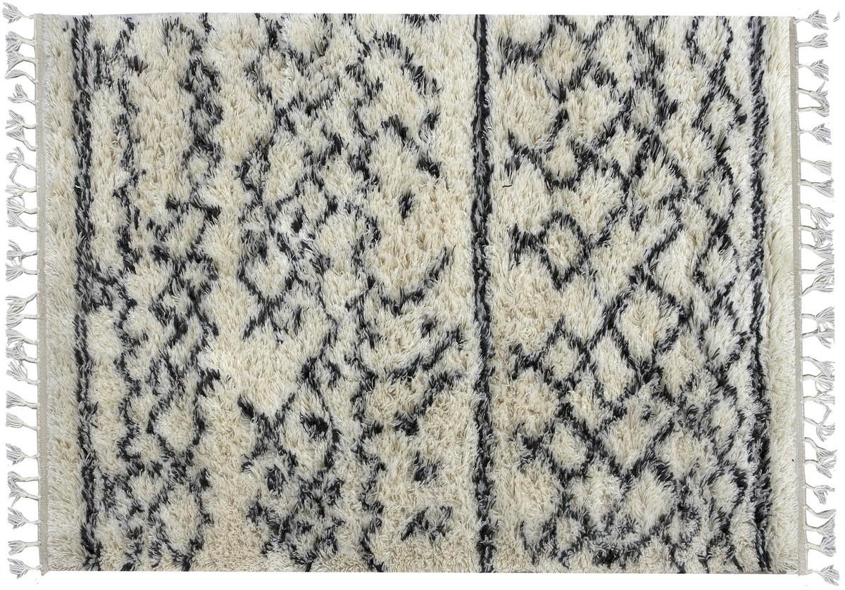 Blødt og lækkert håndknytet tæppe fra Kreatex blødt og lækkert